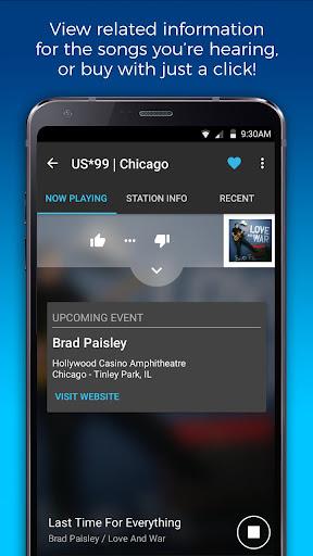 NextRadio Free Live FM Radio 5.0.2351-release screenshots 4