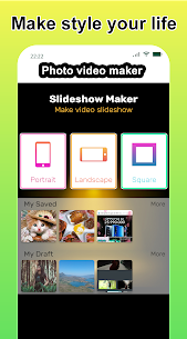 Photo video maker with music, effects for pictures 1