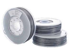 Ultimaker Silver ABS Filament - 3.00mm (0.75kg)