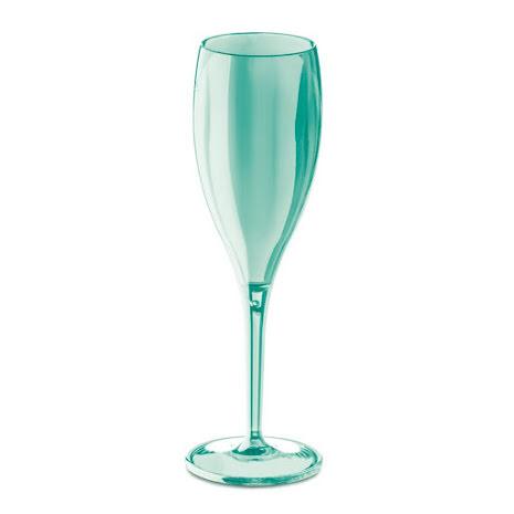CHEERS NO. 1 Champagneglas 4p, jade