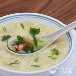 Vietnamese Fresh Asparagus and Crab Soup (Sup Mang Tay Cua Recipe).