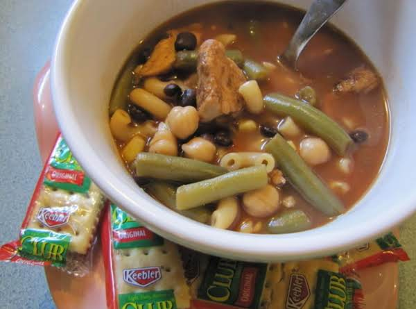 Goals Are Good: Mexican Chicken Minestrone