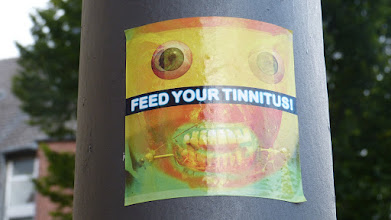 Photo: Sticker; FEED YOUR TINNITUS