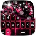 Pink Purple GO Keyboard icon