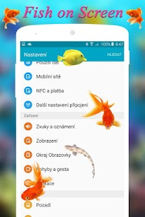 Fish On Screen - náhled