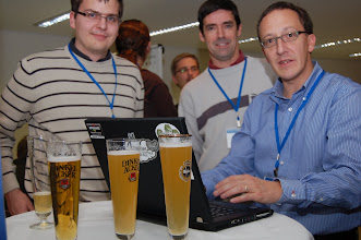 Photo: ESE 2008 Beer + code