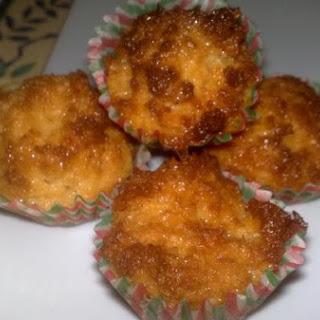 "Coconut Macaroons ""Mini Cupcake"""