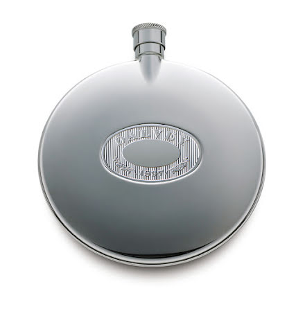 Dalvey Classic Flask Stainless Badge