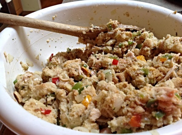 Rose Mary's Salad Crouton Stuffing Recipe