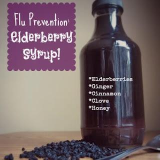 Homemade Elderberry Syrup!
