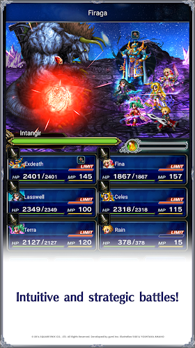 Final Fantasy Brave Exvius 0.1.4 [Mod] APK