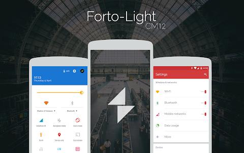Forto Light - CM12 Theme v1.2