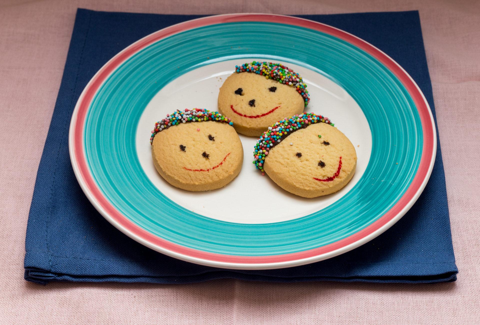 Biscottini simpatici di Aktarus