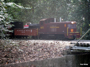 Photo: Jerry Schoenberg's PRR loco    SWLS at HALS 2009-1107