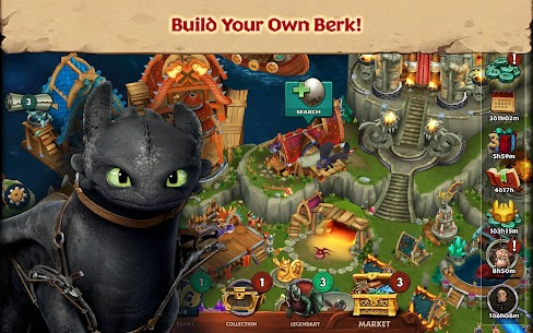 Dragons Rise Of Berk Mod Apk 1.51.7 (Unlimited Runes + No Ads) 1