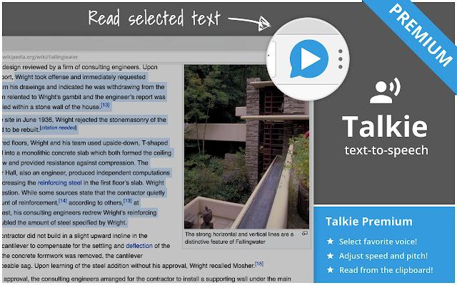 Talkie Premium: text-to-speech many languages
