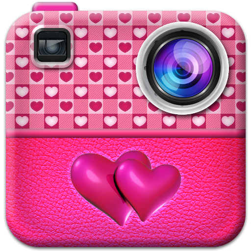 Pink Collage Maker For Girls Icon