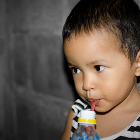 baby drinking by I Made Jaya Wijaya - Babies & Children Babies