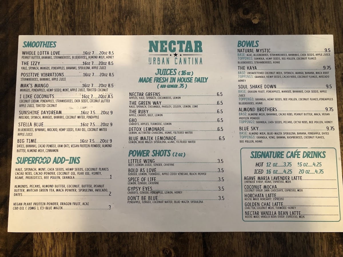 Photo from Nectar: Urban Cantina