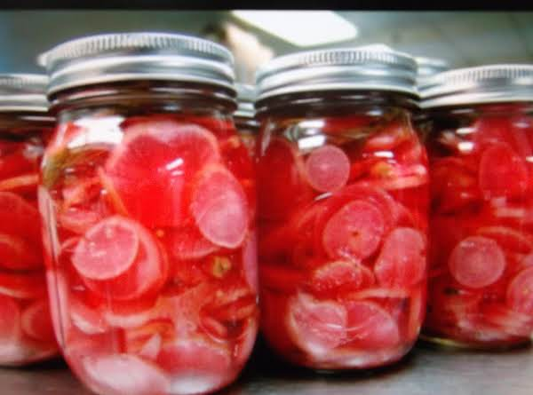 Pickled Radishes Recipe