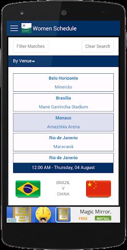 免費下載運動APP|Rio Football 2016 Schedule app開箱文|APP開箱王