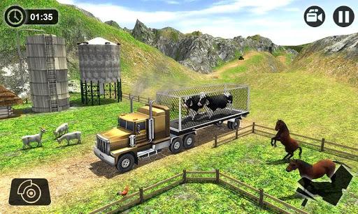 Offroad Farm Animal Truck Driving Game 2018 1.2 screenshots 5