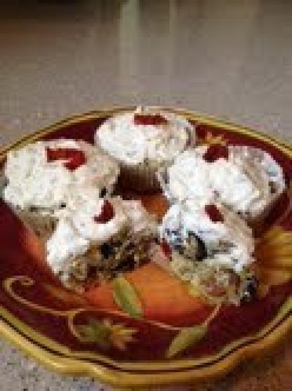 Savory Italian Cupcakes With Goat Cheese Frosting Recipe