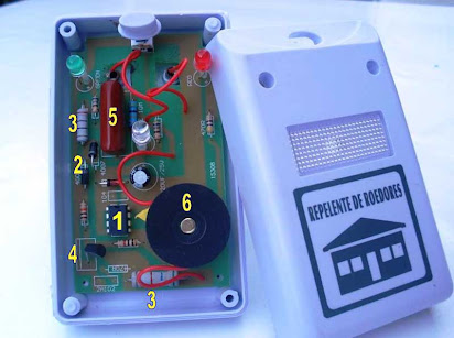 Riddex electronic pest repeller as seen on tv riddex sonic.