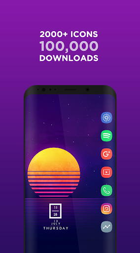 Aspire UX S9 - Icon Pack app for Android screenshot