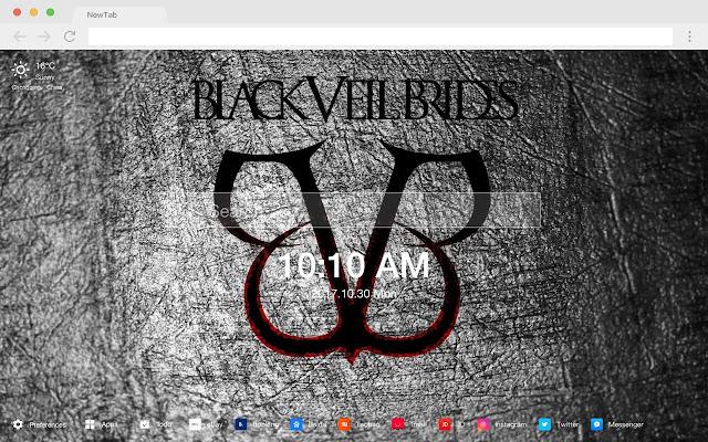 Black Veil Brides 新标签页 流行音乐 高清壁纸 主题