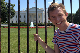 Photo: Brock at the White House http://ow.ly/caYpY