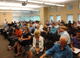 Photo: There vwas a good turnout for the SCORE/SBA/AARP Entrepreneur Mentor Day