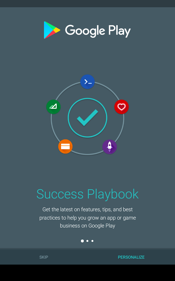 Playbook for Developers- screenshot