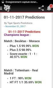 Tiger Sports Prediction - náhled