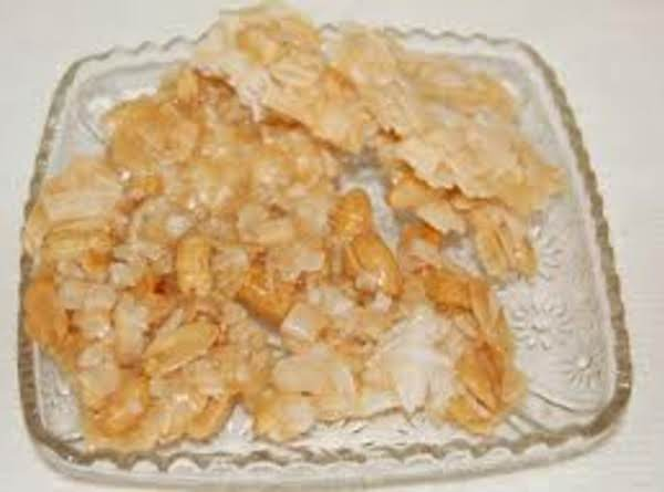 Coconut Orange Brittle Recipe