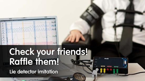 Lie detector imitation - náhled