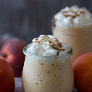 Vanilla Peach Bourbon Milkshake