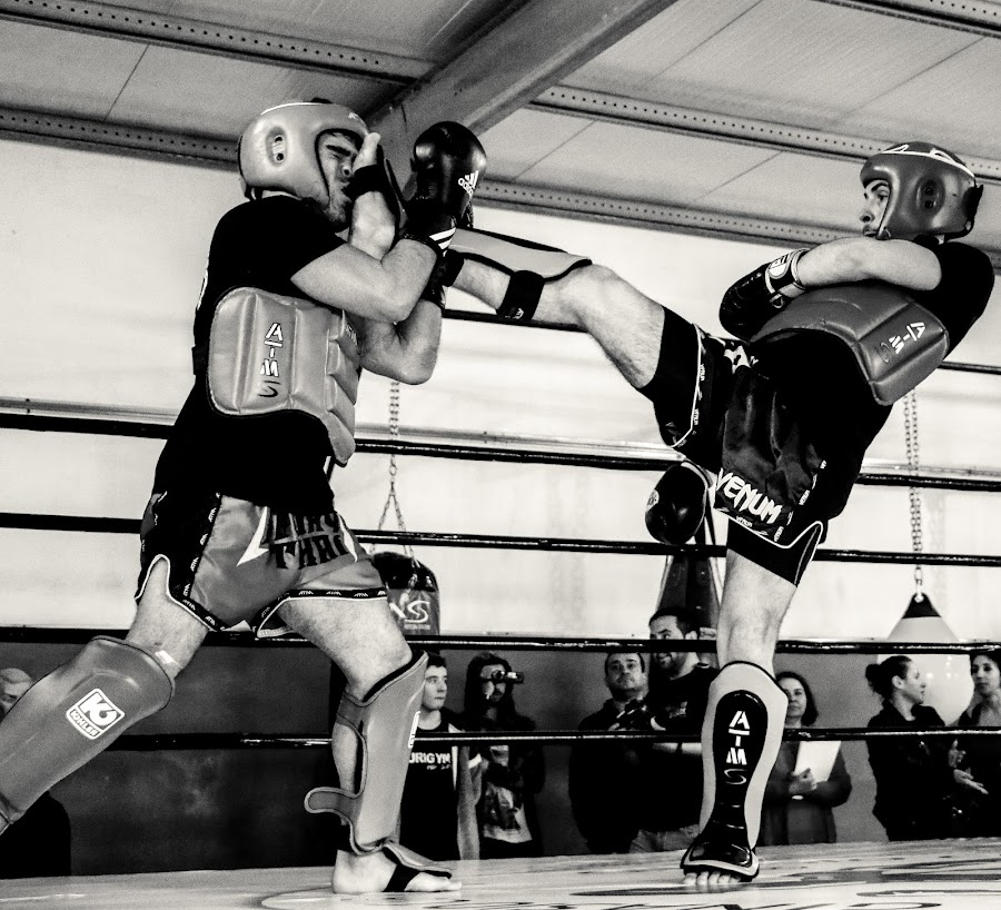 Front kick to the face by João Pedro Ferreira Simões - Sports & Fitness Boxing ( broken, face, fight, ko, knockout, fighting, boxing, nose, kickboxing )