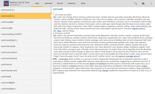 Websters Dictionary+Thesaurus v4.3.102