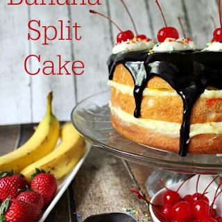 Banana Split Cake.