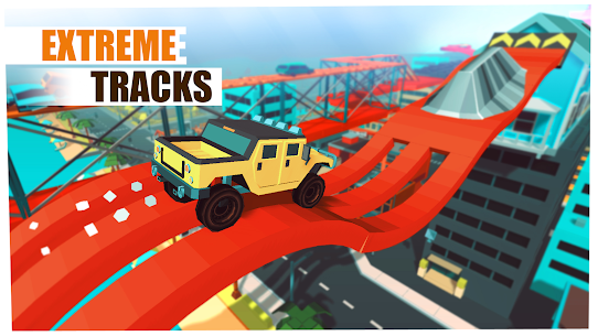 Skill Test – Extreme Stunts Racing Game 2019  Apk Download for Android 3