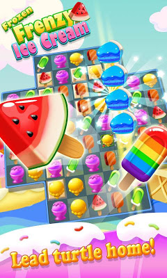 Ice Cream Frenzy Frozen - screenshot