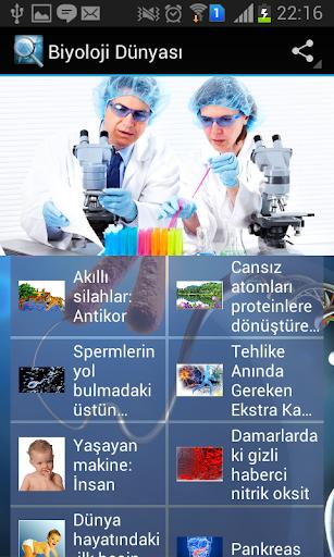 Biyoloji dünyası
