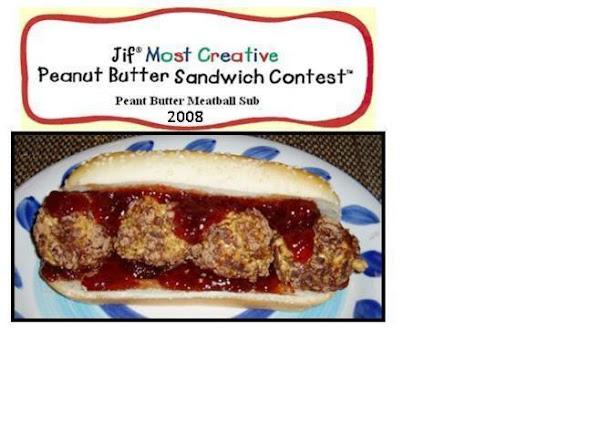Peanut Butter Meatball Sub Recipe