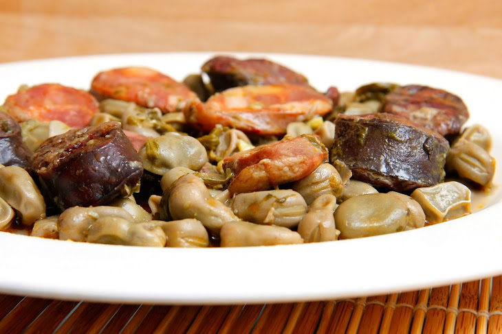 Stewed Sausage and Beans Recipe