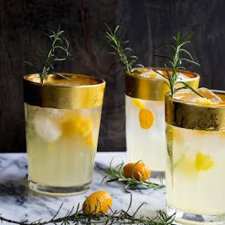 St. Germain Kumquat Cocktail.