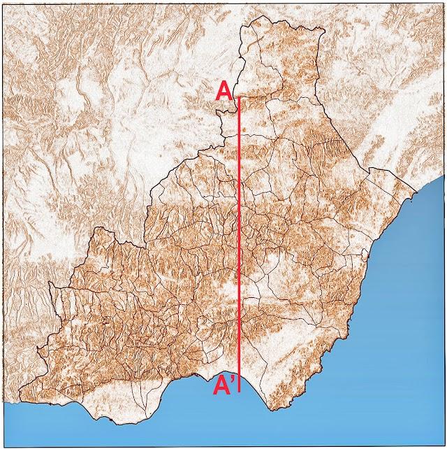 Pendientes de la provincia de Almería.