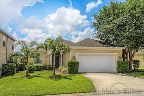 Private Orlando villa to rent, close to Disney, games room, private pool and spa, peaceful community