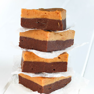 Double Layer Chocolate Peanut Butter Fudge