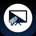 Universal remote control for smart TVs icon